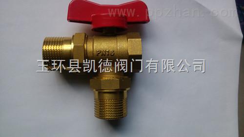 散热器恒温控制阀,黄铜三通调节阀批发图片