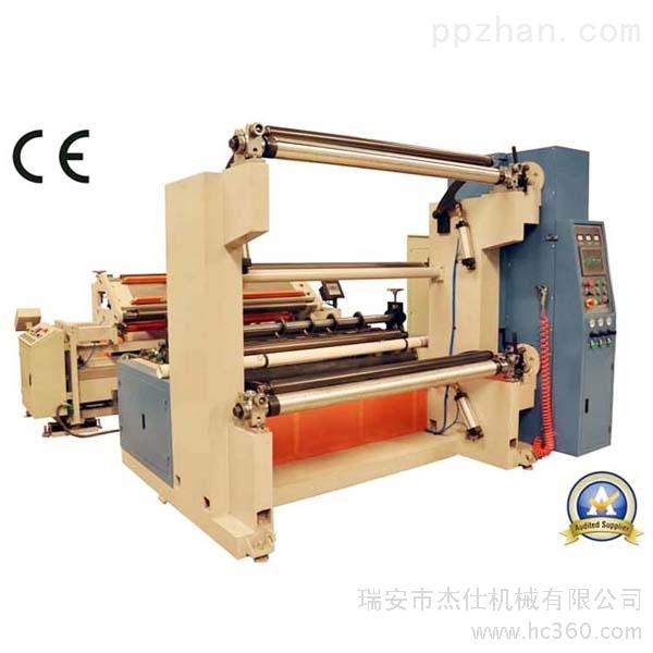 供应杰仕机械jt-slt-1600c瑞安进口配置液压无轴放料纸分切机图片