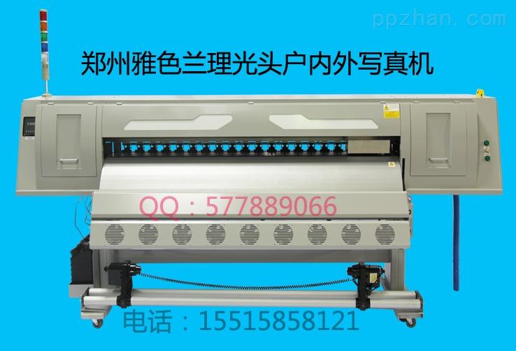 高速度高精度户外压电写真机 理光头户内压电写真机