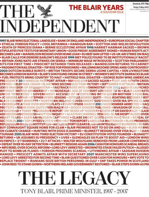 回顧紙質《獨立報》20個頭版