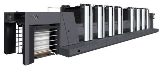 國內首臺八色雙面膠印機+LED-UV落戶鄭州