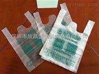 PO透明塑料袋塑料背心袋大�房�物袋
